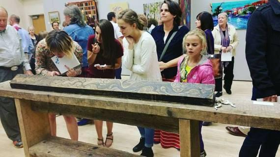 Desert Wake, President's Art Show, Salt Lake Community College