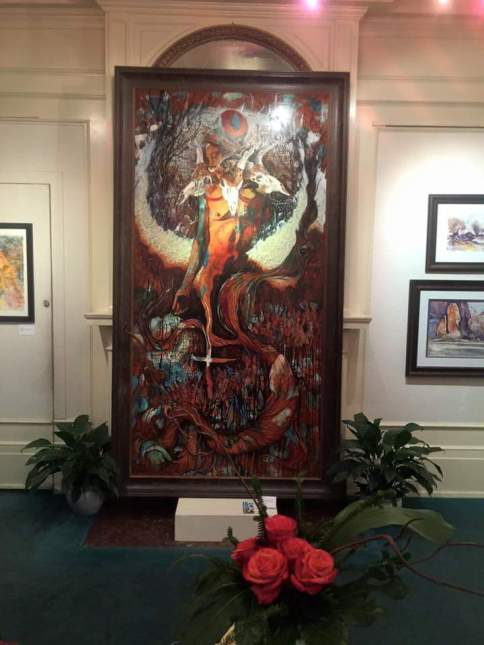 Bough of the Juniper Eccles Art Center