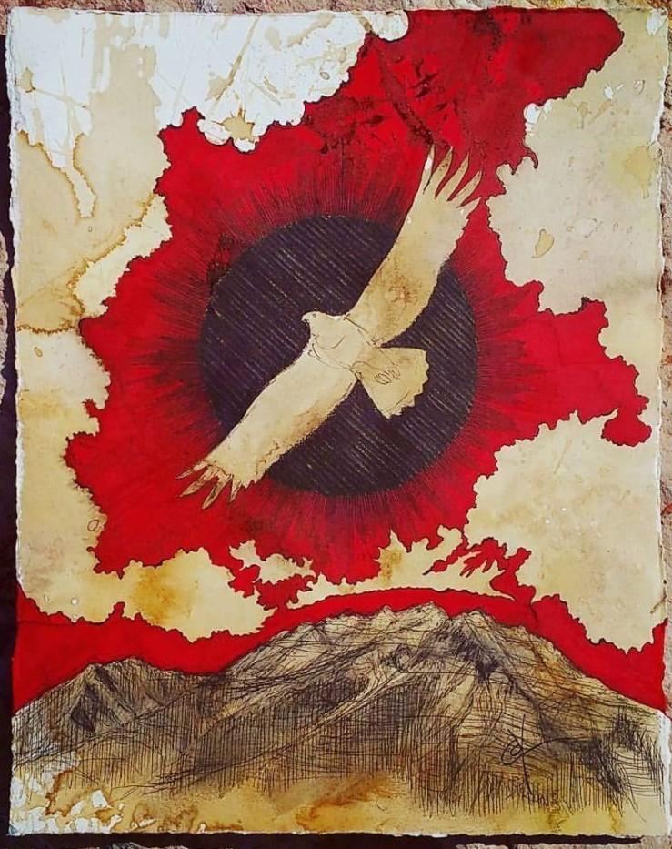 Eagle over Timp